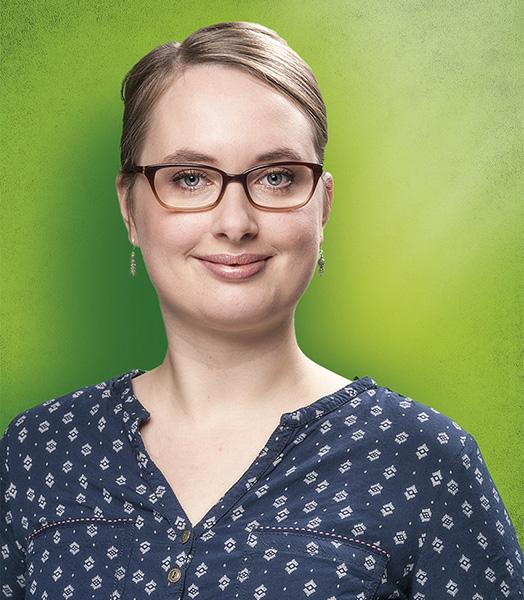 Ein Portrait-Foto von Mareike Engels